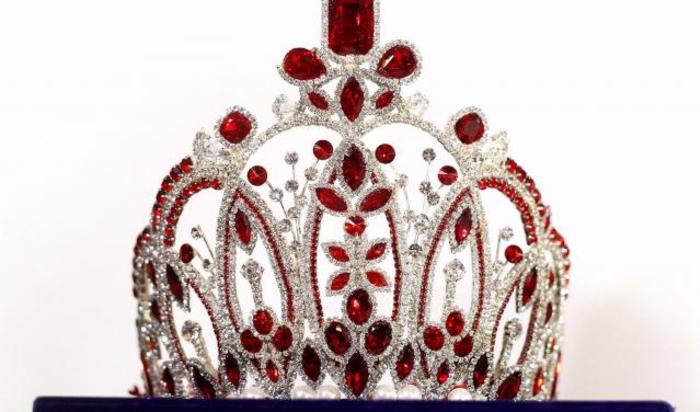 Корона для конкурса красоты Мисс Азиатско-Тихоокеанский регион мира 2014.