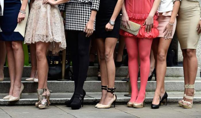 Участницы конкурса «Мисс Мира-2014» в Лондоне, 25 ноября 2014.
