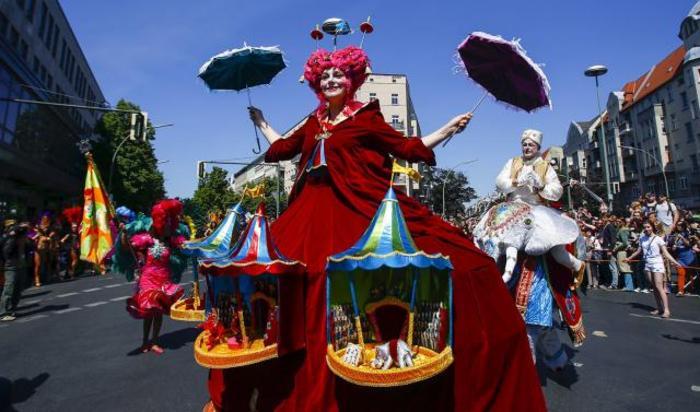 Карнавал культур этнических меньшинств в Берлине, Германия, 24 мая 2015.