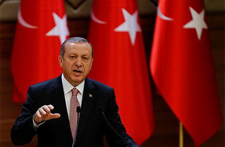 Эрдоган предостерег Россию от «игры с огнем»