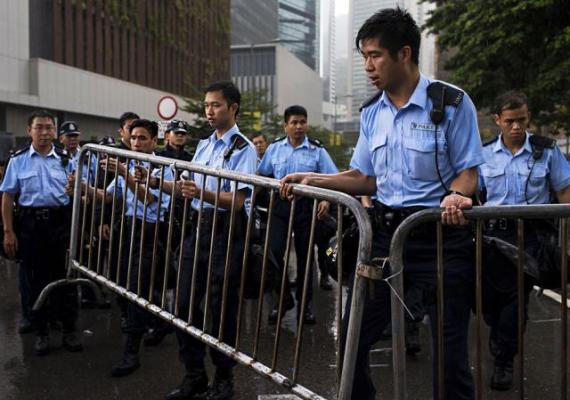 Протесты в Гонконге
