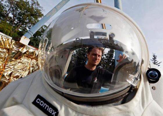 Обучение французских космонавтов