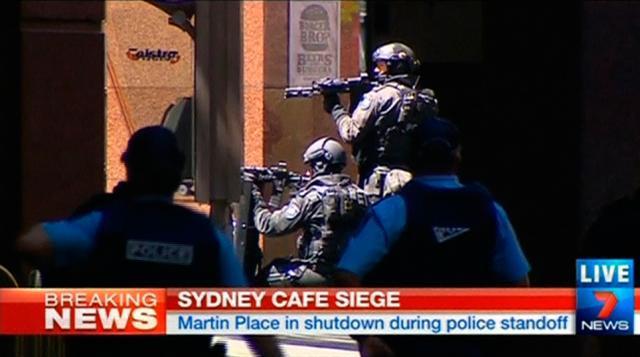 Захват заложников в Сиднее.
