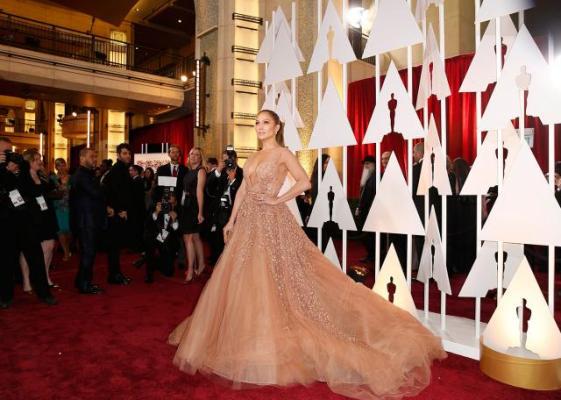 Богатые и знаменитые: красная дорожка «Оскара»