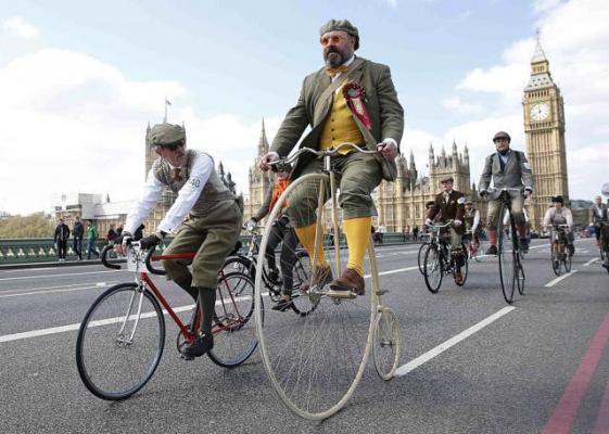 Неспешные велопрогулки в британском стиле