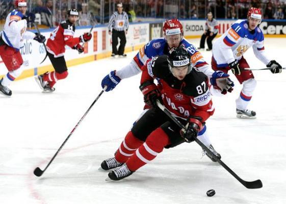 Финал чемпионата мира по хоккею. Канада - Россия