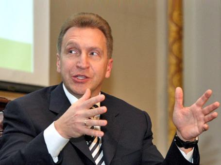 Первый заместитель председателя правительства РФ Игорь Шувалов. Фото: РИА Новости