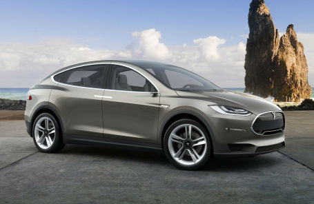 Кроссовер Tesla попался на глаза автошпионам