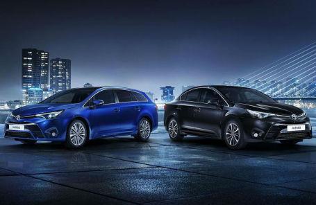 Toyota раскрыла обновленный Avensis. Официальная премьера состоится в Женеве