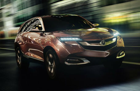 Самую маленькую Acura на базе Honda HR-V назовут CDX