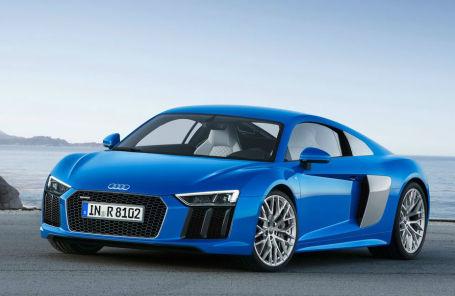 Audi R8 теперь только с V-образной «десяткой»