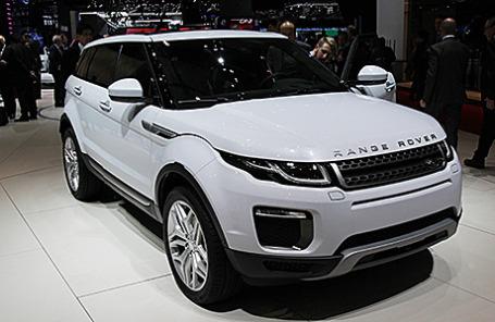 Range Rover Evoque прошел «прокачку» к автосалону в Женеве