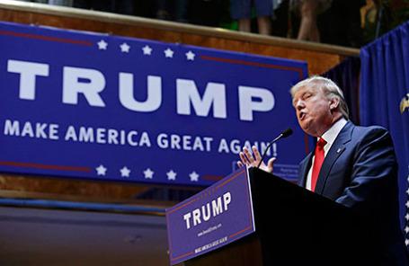 Миллиардер Трамп, критиковавший Обаму, идет в президенты