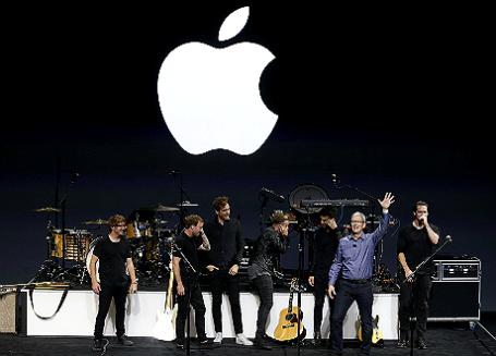 Презентация новой продукции Apple в Сан-Франциско