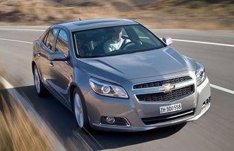 Chevrolet Malibu высылают из России из-за низкого спроса
