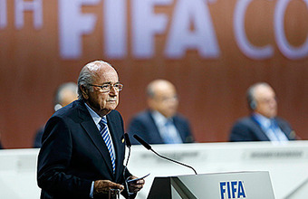Блаттера переизбрали президентом FIFA