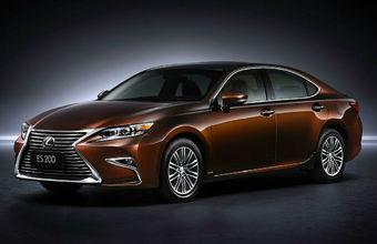 За обновленный Lexus ES запросили минимум 1 млн 849 тысяч рублей