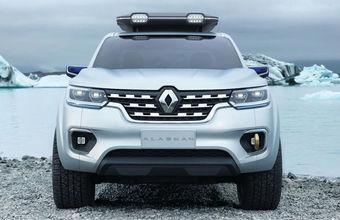 Renault готовит пикап Alaskan, созданный на базе Nissan Navara