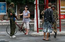 Впервые за долгое время ночь в Донецке прошла без обстрелов