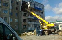 В Липецкой области спасатели приостановили разбор завалов в доме после взрыва газа