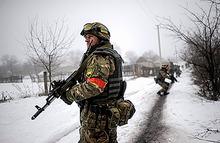 Ополченцы замыкают дебальцевский «котел», армия Украины отвечает