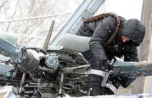 В Красноярском крае объявили траур по жертвам крушения Ми-8