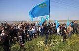 В оцеплении. После выборов в здании меджлиса в Симферополе прошли обыски
