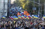 Марш мира в Москве. Следуя заветам Леннона