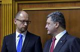 Под чутким присмотром Вашингтона. Как сложатся отношения Порошенко и Яценюка после парламентских выборов