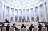 Крупный бизнес в Кремле. Путин встретился с владельцами и руководителями ведущих российских компаний
