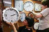 Минпромторг не подвел часы