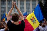Протесты в Молдавии. Недовольство народа ушло в свисток