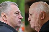Как  жизнь после Кремля рассорила Жириновского с Горбачевым