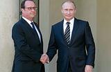 Встреча Путина и Олланда: терроризм сблизил Россию и Францию